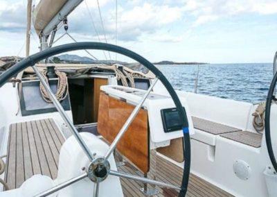 Cockpit dufour 350GL